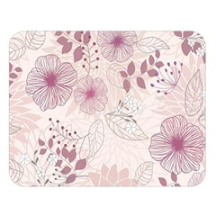Leaves Pattern Double Sided Flano Blanket (large)