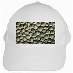 Ocean Pattern White Cap by BangZart