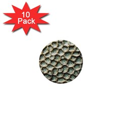 Ocean Pattern 1  Mini Buttons (10 Pack)
