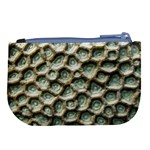 Ocean Pattern Large Coin Purse Back
