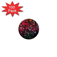 Circle Abstract 1  Mini Buttons (100 Pack)