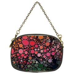 Circle Abstract Chain Purses (one Side)