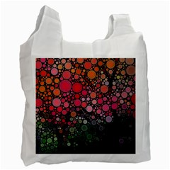 Circle Abstract Recycle Bag (two Side)