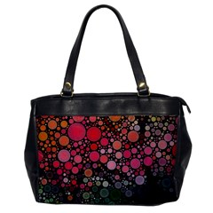 Circle Abstract Office Handbags
