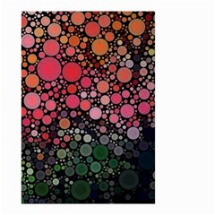 Circle Abstract Small Garden Flag (two Sides)