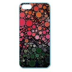 Circle Abstract Apple Seamless Iphone 5 Case (color) by BangZart