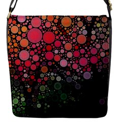 Circle Abstract Flap Messenger Bag (s)