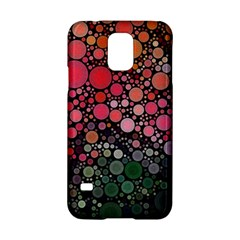 Circle Abstract Samsung Galaxy S5 Hardshell Case