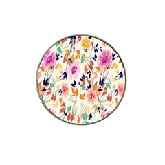 Vector Floral Art Hat Clip Ball Marker (10 Pack)