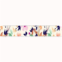 Vector Floral Art Small Bar Mats