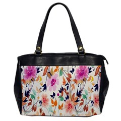Vector Floral Art Office Handbags