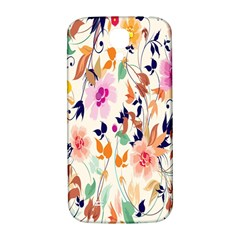 Vector Floral Art Samsung Galaxy S4 I9500/i9505  Hardshell Back Case by BangZart