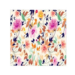 Vector Floral Art Small Satin Scarf (square) by BangZart