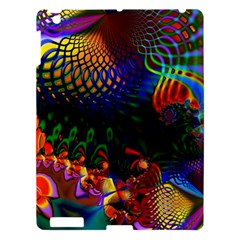 Colored Fractal Apple Ipad 3/4 Hardshell Case