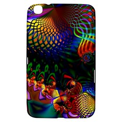 Colored Fractal Samsung Galaxy Tab 3 (8 ) T3100 Hardshell Case  by BangZart