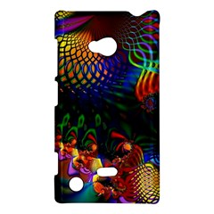 Colored Fractal Nokia Lumia 720 by BangZart