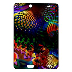 Colored Fractal Amazon Kindle Fire Hd (2013) Hardshell Case by BangZart