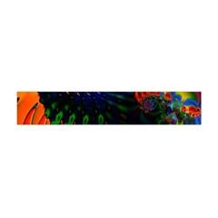 Colored Fractal Flano Scarf (mini)