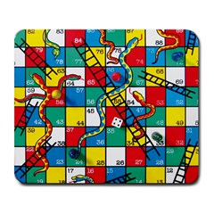 Snakes And Ladders Large Mousepads