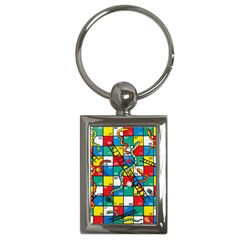 Snakes And Ladders Key Chains (rectangle)