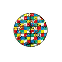 Snakes And Ladders Hat Clip Ball Marker (4 Pack)