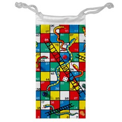 Snakes And Ladders Jewelry Bag by BangZart