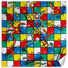 Snakes And Ladders Canvas 16  X 16