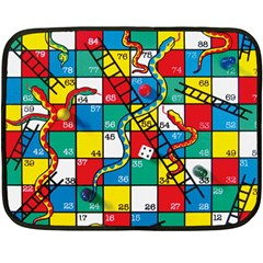 Snakes And Ladders Double Sided Fleece Blanket (mini)