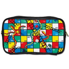 Snakes And Ladders Toiletries Bags 2 Side