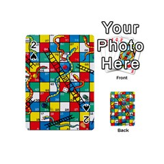 Snakes And Ladders Playing Cards 54 (mini)