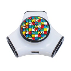 Snakes And Ladders 3 Port Usb Hub