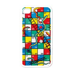 Snakes And Ladders Apple Iphone 4 Case (white)