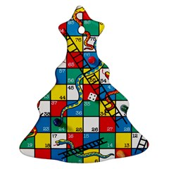 Snakes And Ladders Ornament (christmas Tree)