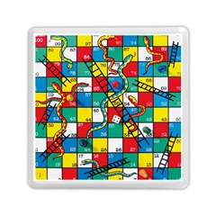 Snakes And Ladders Memory Card Reader (square)