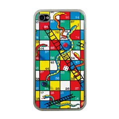Snakes And Ladders Apple Iphone 4 Case (clear) by BangZart