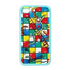 Snakes And Ladders Apple Iphone 4 Case (color)