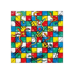 Snakes And Ladders Acrylic Tangram Puzzle (4  X 4 )