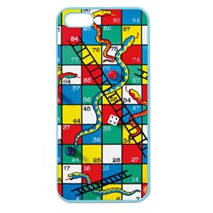 Snakes And Ladders Apple Seamless Iphone 5 Case (color)