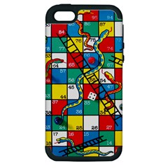 Snakes And Ladders Apple Iphone 5 Hardshell Case (pc+silicone)