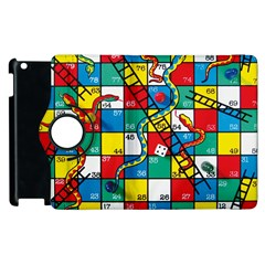 Snakes And Ladders Apple Ipad 3/4 Flip 360 Case by BangZart