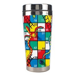 Snakes And Ladders Stainless Steel Travel Tumblers