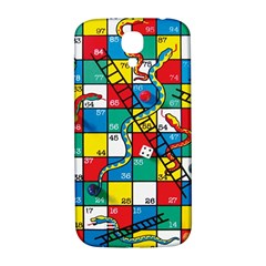 Snakes And Ladders Samsung Galaxy S4 I9500/i9505  Hardshell Back Case