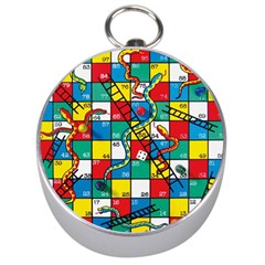 Snakes And Ladders Silver Compasses