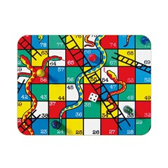 Snakes And Ladders Double Sided Flano Blanket (mini)