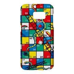 Snakes And Ladders Samsung Galaxy S7 Hardshell Case