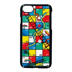 Snakes And Ladders Apple Iphone 7 Seamless Case (black)