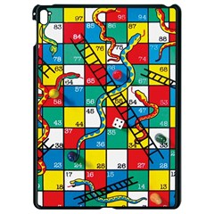 Snakes And Ladders Apple Ipad Pro 9 7   Black Seamless Case