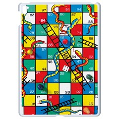 Snakes And Ladders Apple Ipad Pro 9 7   White Seamless Case