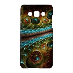 Fractal Snake Skin Samsung Galaxy A5 Hardshell Case