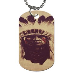Indian Dog Tag (two Sides)